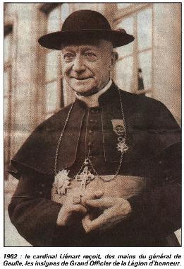Cardinal Lienart リエナール枢機卿